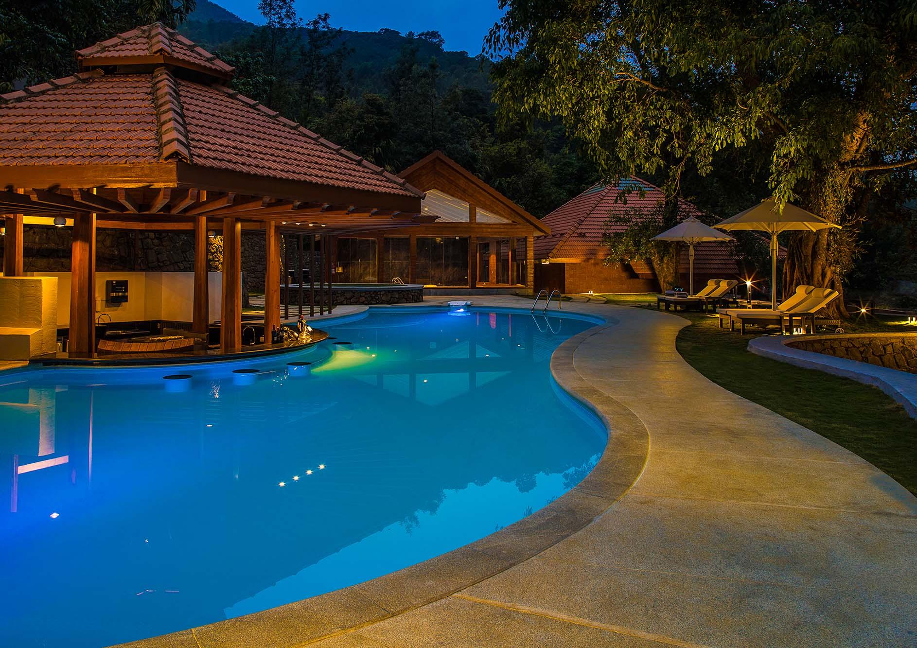 swimming pool the tamara coorg